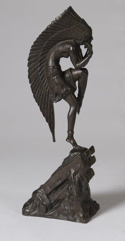 15: Bronze, D. H. Chiparus, Dancing Female Indian