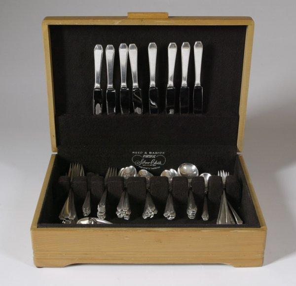 18: 74pc. Reed & Barton Sterling Silver Flatware Set