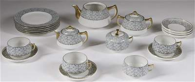 180:Very Nice 21 Piece Japanese Porcelain Tea Set