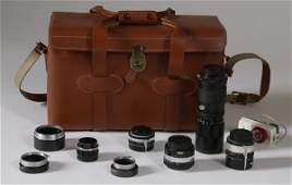 534 Large Collection Of Camera Equipment With Camera B
