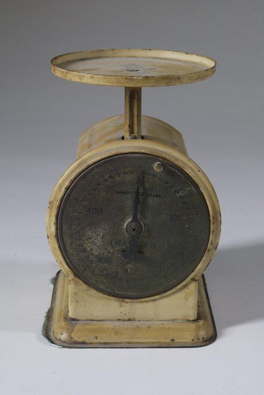3: Vintage Chatillion Metal Scale
