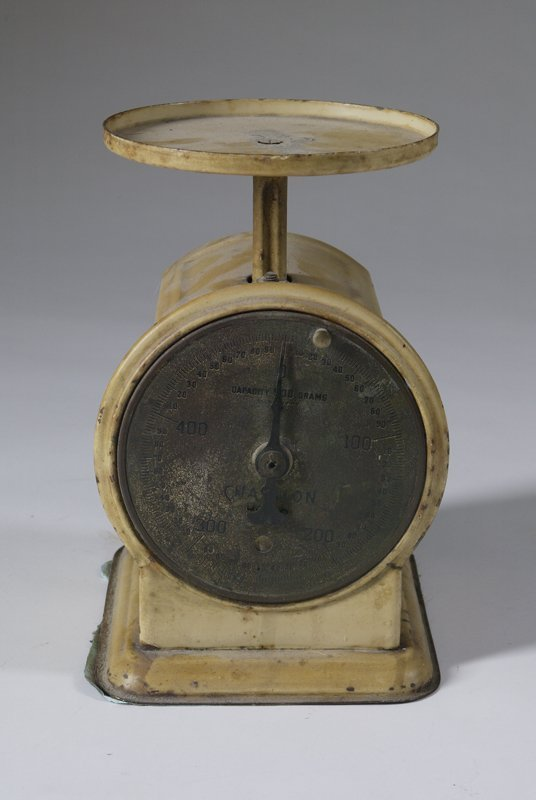 3: Vintage Chatillion Metal Scale