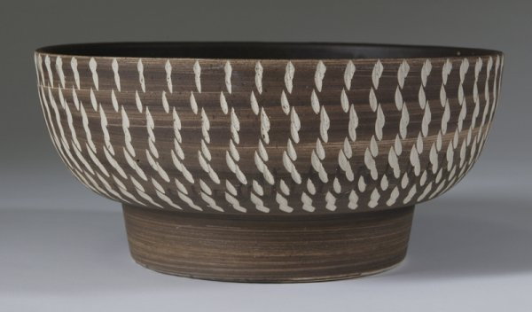 7: Late 20th C. Vetter Ceramic  Bowl