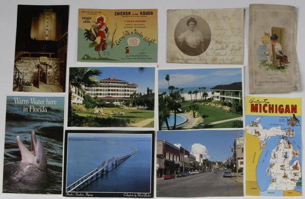 19: Collector's Lot Of Post cards