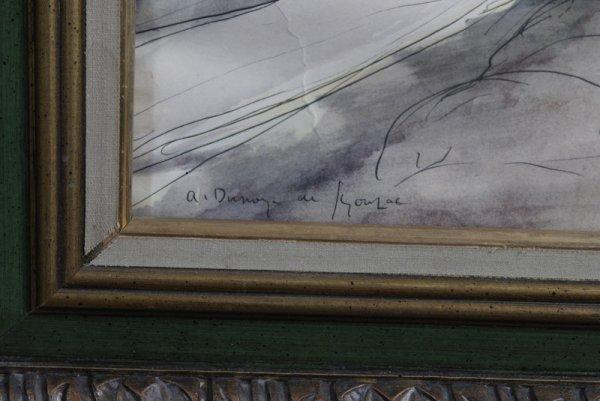285: Andre Dunoyer de Segonzac (1885-1974) Color Litho - 2