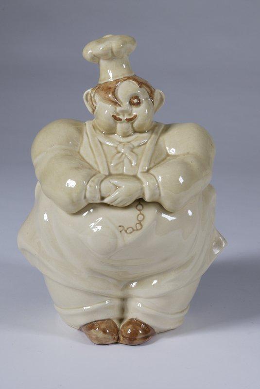 1007: Vintage Baker's Cookie Jar