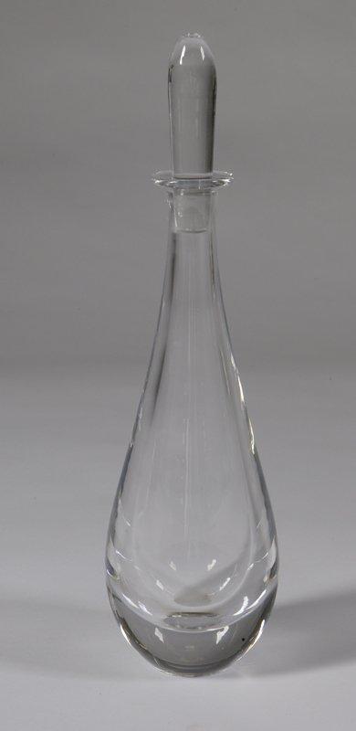 1008: Vintage Orrefors Crystal Decanter
