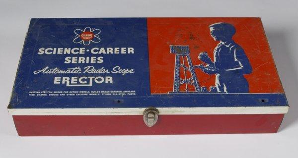 1016: Vintage 1950's Gilbert Erector Set