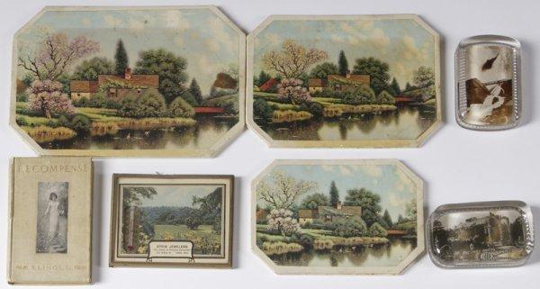 1017: Souvenir Lot Of 7 Decorative Table Articles