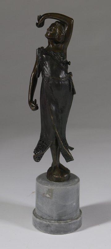 1051: Manner of Karl Kauba (1865-1922) Bronze Figure