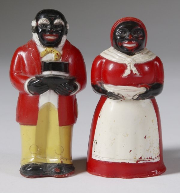 1503: Vintage Jack Moses Mammy Salt And Pepper Shaker