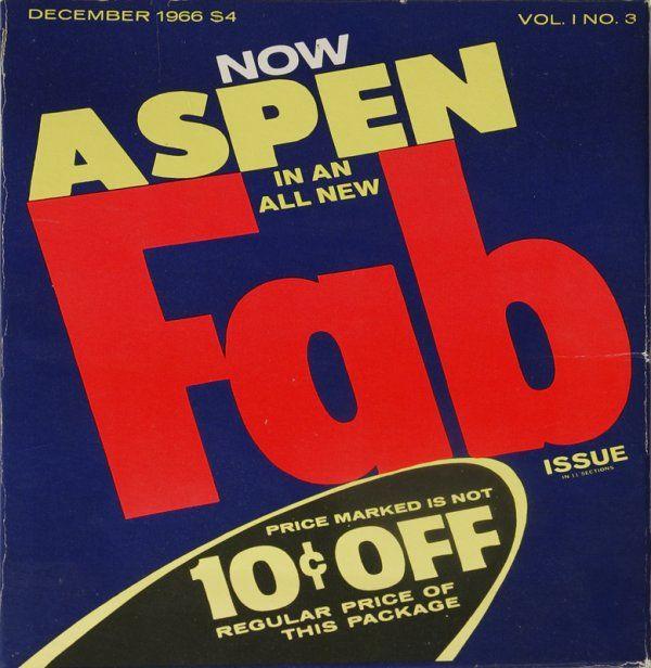"Andy Warhol ""Fab Aspen Magazine"" In Box"