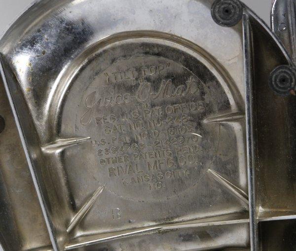 """359: Vintage Juice-O-Mat """"Tilt Top"""" Juicer - 2"""