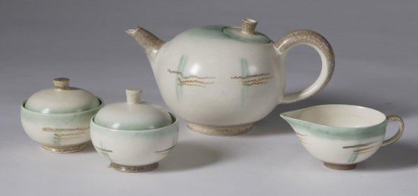 571: Mid 20th Century Modern German Tea Set
