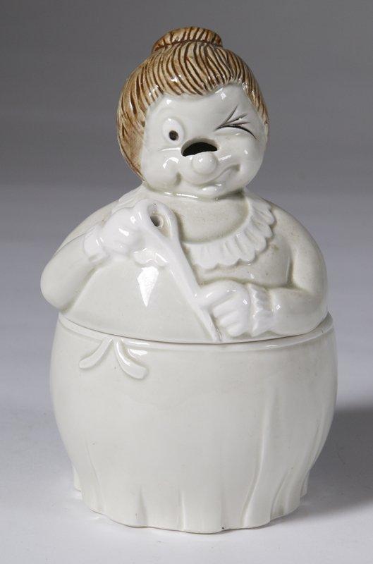 "574: Fritz And Floyd Porcelain ""Granny String Caddy"""