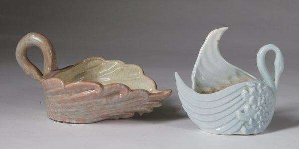 578: 2 Pieces Of Royal Hager Art Porcelain T. Articles