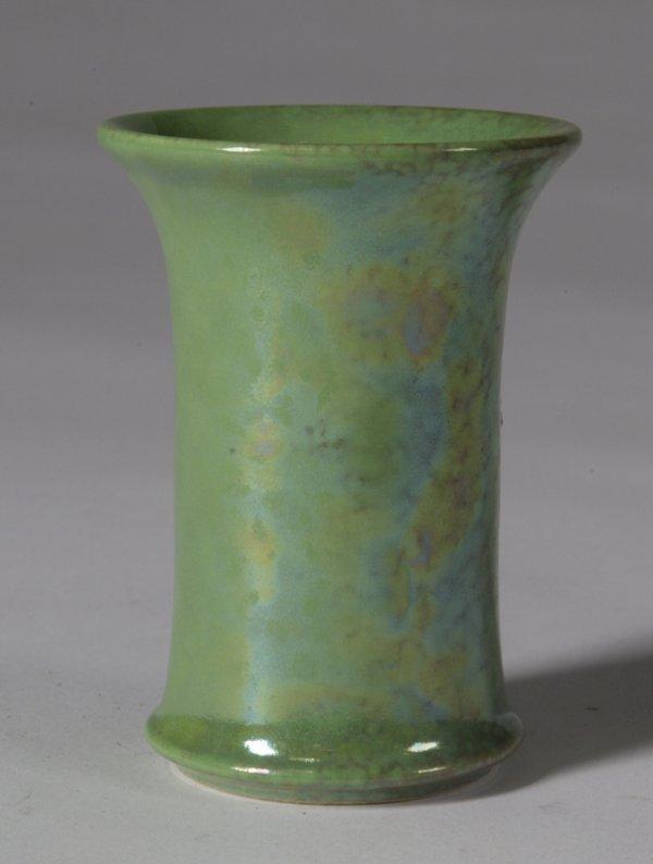 589: English Ruskin Small Art Pottery Studio Vase