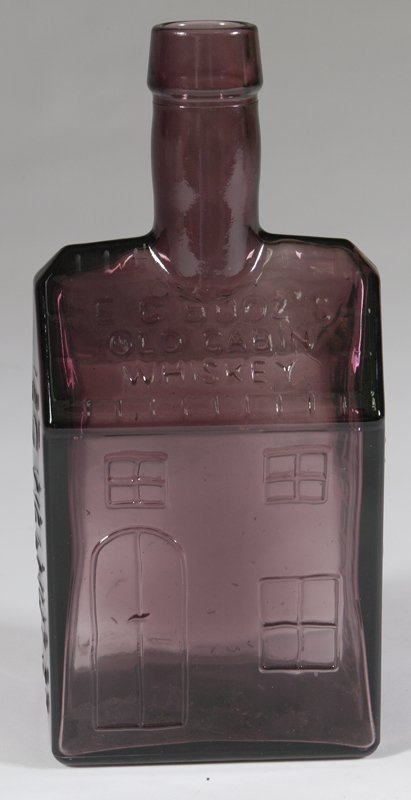 5: E.G. Booz's/Old Cabin Whiskey Bottle