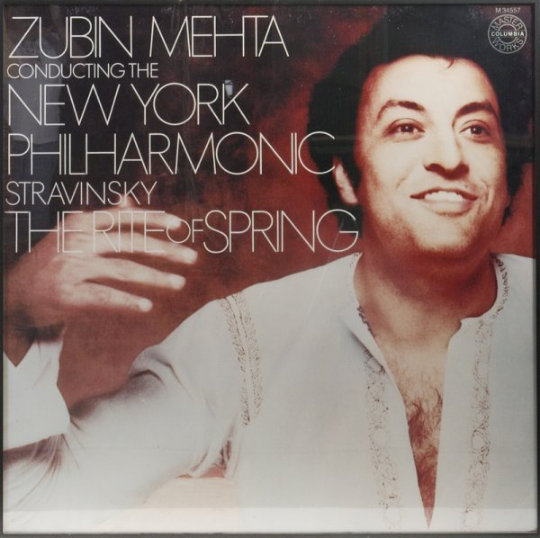 8: Zubin Mehta Master Columbia Works Poster