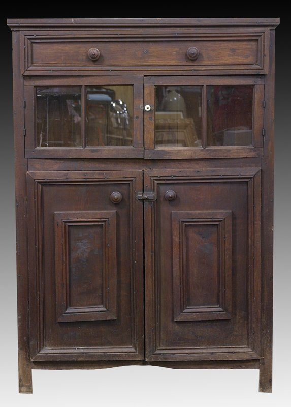 19: Mid 19th C. English Oak Cupboard