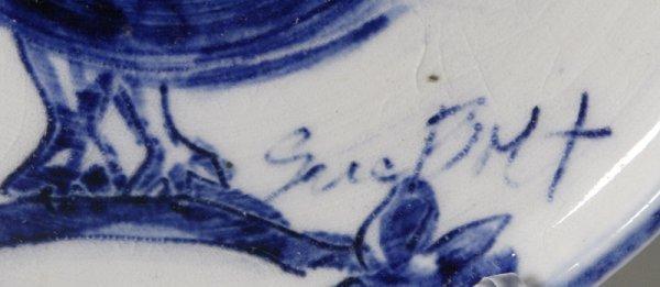 187: Sue Bolt, Michigan, 8 Pieces Art Pottery - 4