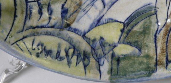 187: Sue Bolt, Michigan, 8 Pieces Art Pottery - 6