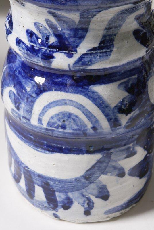 187: Sue Bolt, Michigan, 8 Pieces Art Pottery - 7