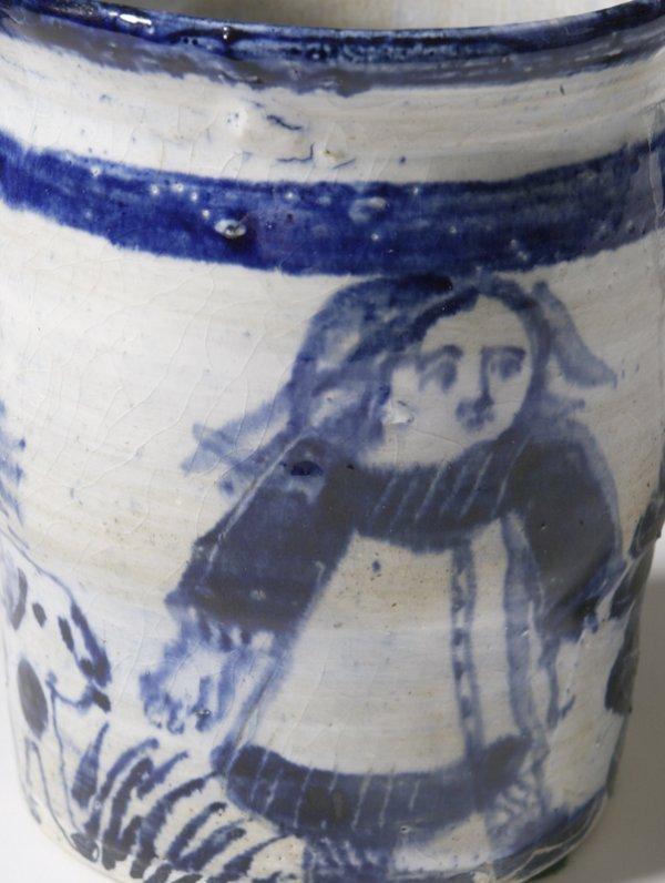 187: Sue Bolt, Michigan, 8 Pieces Art Pottery - 8