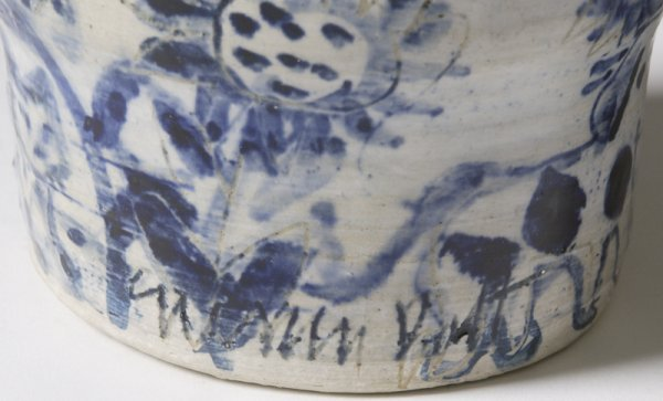 187: Sue Bolt, Michigan, 8 Pieces Art Pottery - 9
