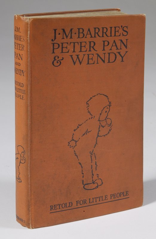 454: J.M. Barries Peter Pan & Wendy, Copyright 1926