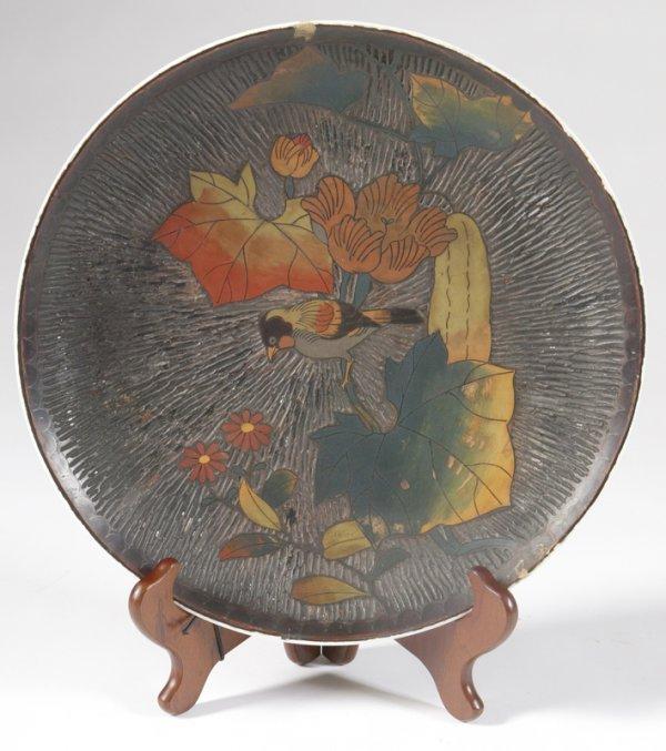 462: Antique Japanese Cloisonne Charger