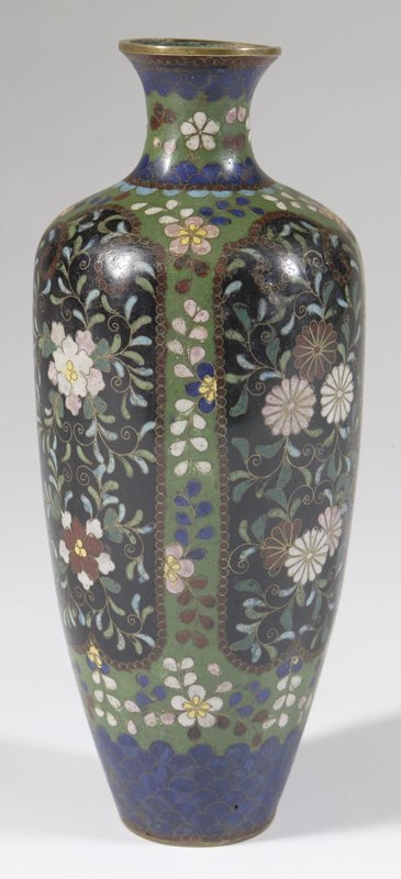 470: 20th C. Japanese Cloisonne Vase