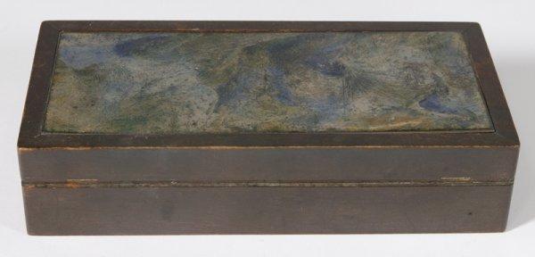 564: June Schwarcz Enameled Wood Box