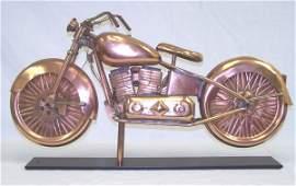160: 20th C. Copper and Brass Weathervane
