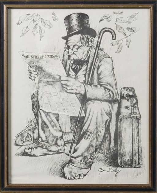 512: Jim Daly, Print; \