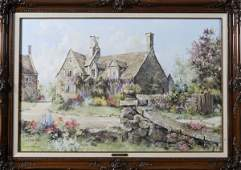 528 Marty Bell C Lithograph  Weston Manor
