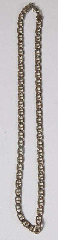 47: 14 K Gold Bi-Color Italian Necklace