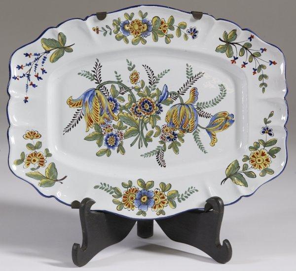 3: Decorative Pottery Platter