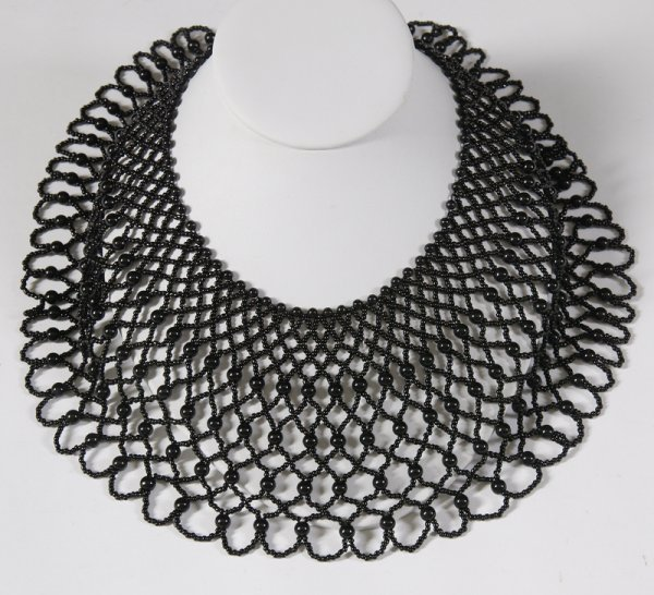 4: Hand Beaded Collar Necklace