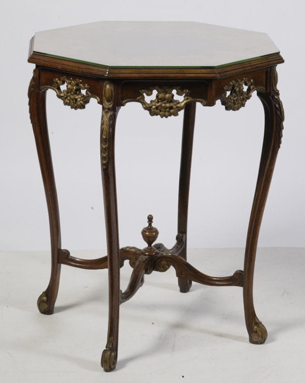 17: Antique Louis XV Style Lamp Table