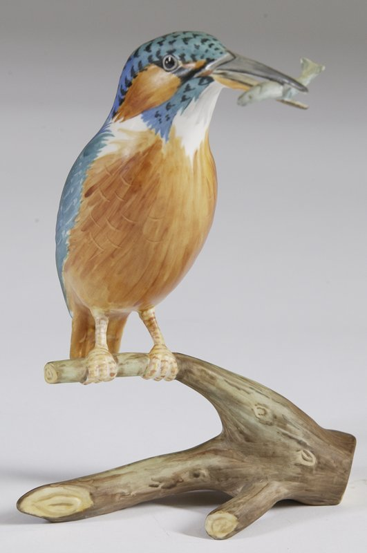 20: Vintage Spode Kingfisher Figurine