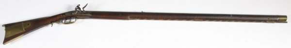 178: Kentucky Flintlock Rifle Circa 1810
