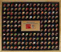 397 CocaCola 1984 Olympic Collector Set Pins