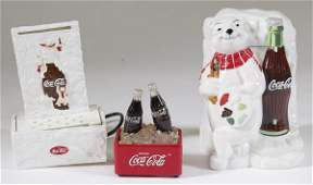 446: Coca-Cola Water Fountain, Cookie Jar & Fountain
