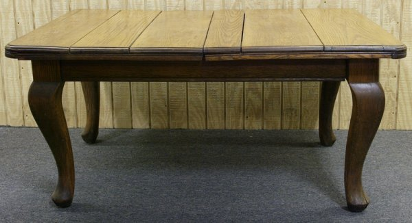 468: Early 20th C. English Oak Dining Table