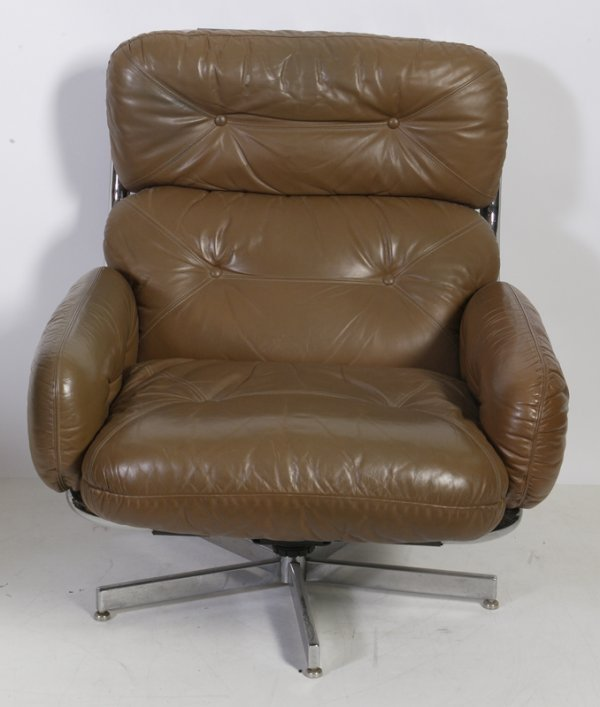 470: Milo Baughman for Directional Leather Chair