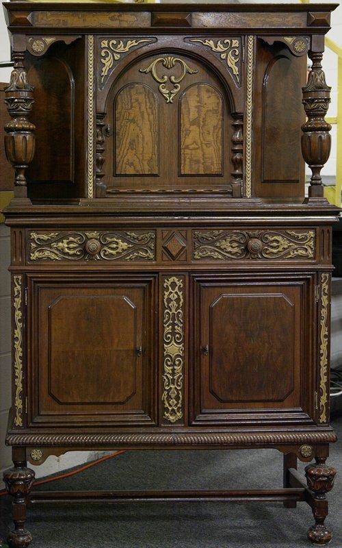 474: Renaissance Revival Style China Cabinet