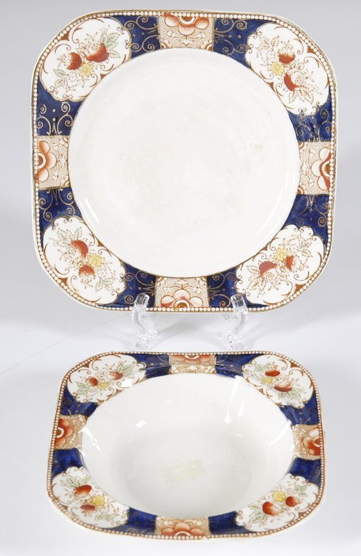 """3: Wood & Sons """"Royal Castle"""" Bowl & Underplate"""