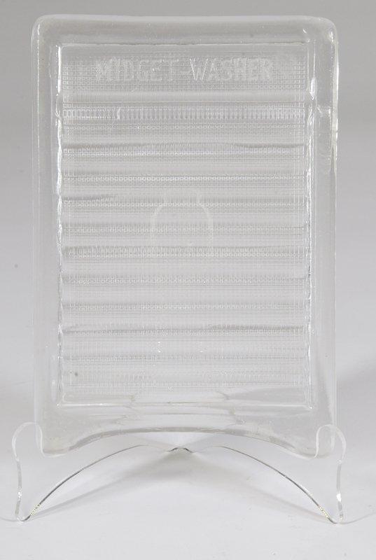 4: Miniature Glass Washboard