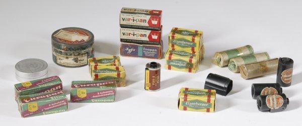 9: Large Lot of Vintage Film